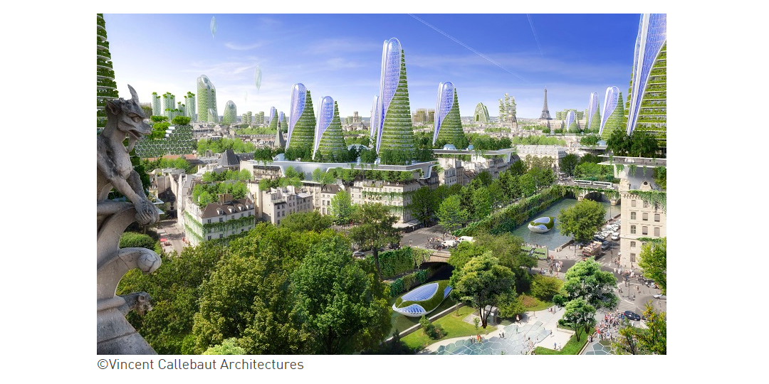 PARIS SMART CITY 2050 (Vincent Callebaut)