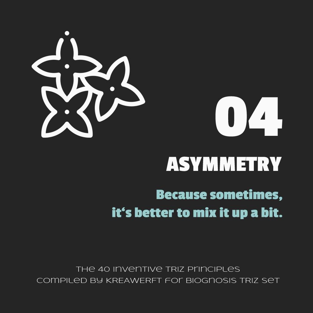 Prinzip 04 - Asymmetrie, Icon (c) Freepik/Flaticon